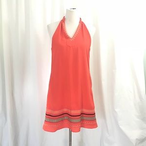Stitch Fix THML Orange Trapeze A Line  Dress M